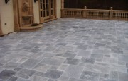 Blue Travertine Patio
